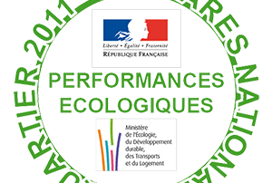 Logo Palmares National Eco-quartier 2011