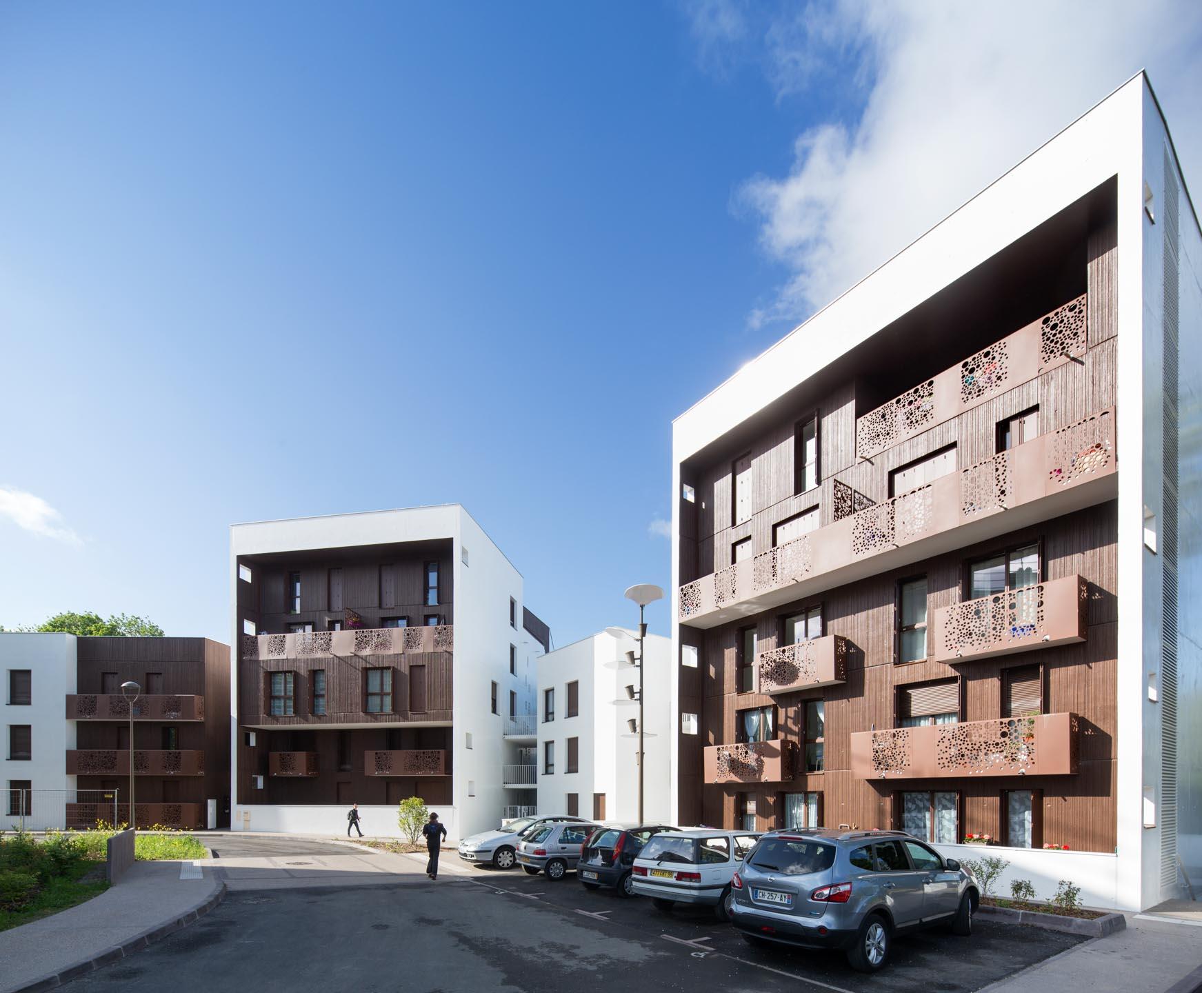 Arc.Ame logements collectifs Emmaus Habitat Prix AMO 2016