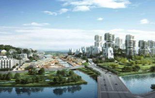 Chengdu (Chine) – Schéma Directeur d'un éco-quartier franco-sichuanais