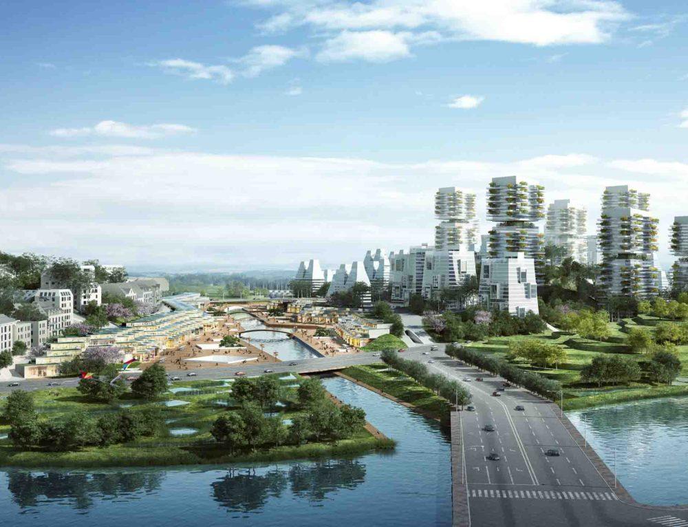 Chengdu (Chine) • Schéma Directeur d'un éco-quartier franco-sichuanais