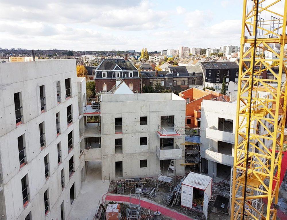 Le chantier avance à Sotteville-les-Rouen pour ICF Atlantique