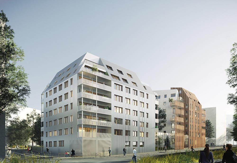 logements structure bois Paris - ELOGIE