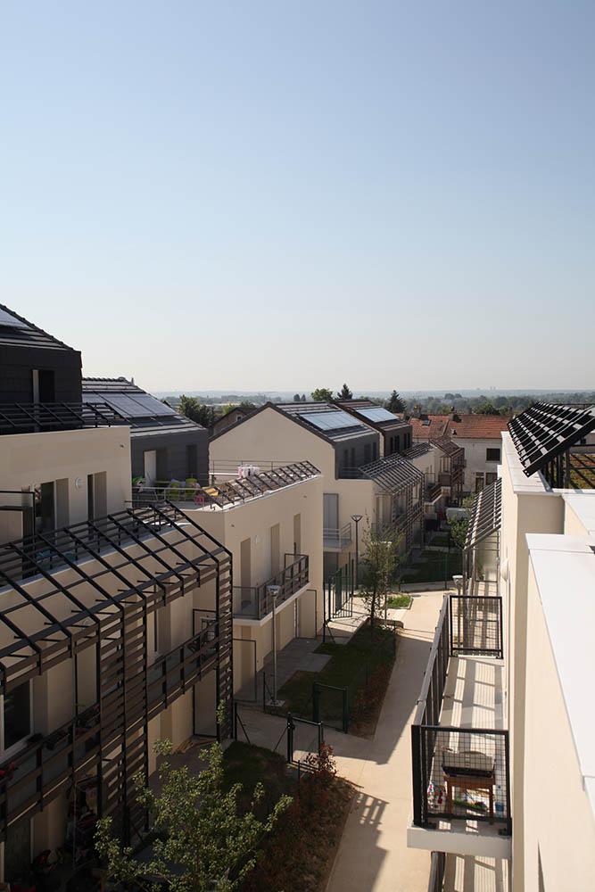 arcame - logements à Courtry pour Marne et Chantereine Habitat