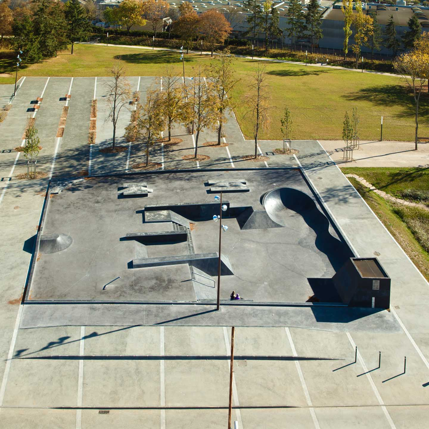 Agence Arcame - Chartres Skatepark