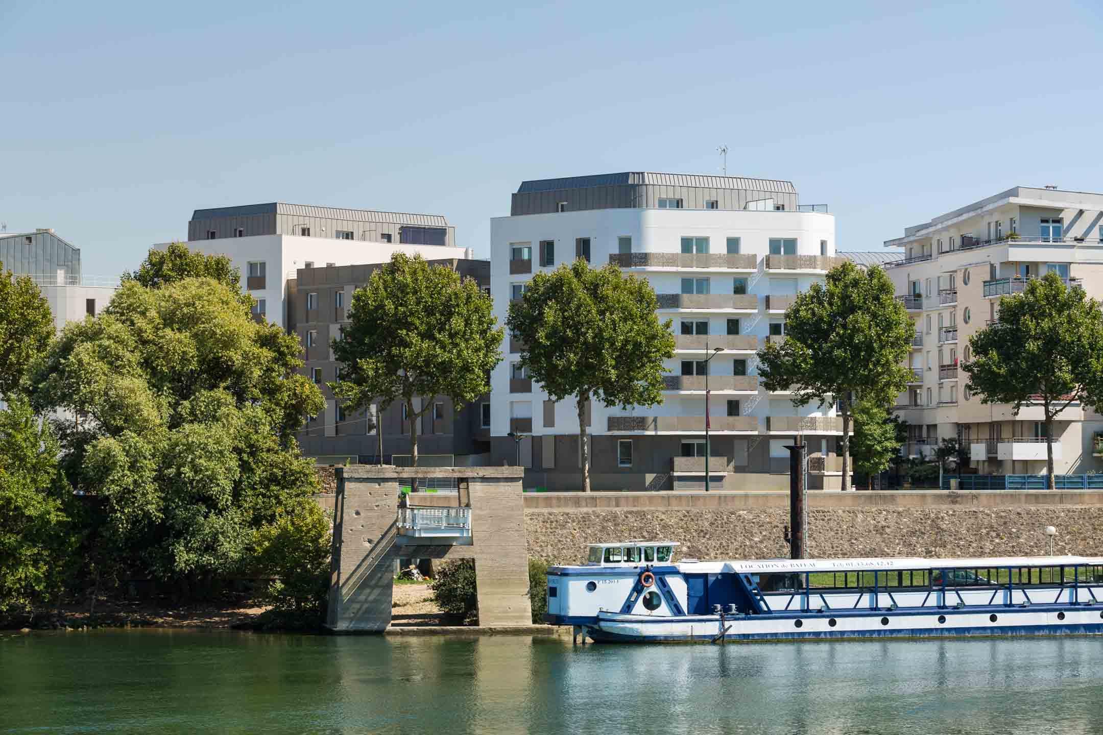 Agence Arcame - ZAC des Pontons Alfortville