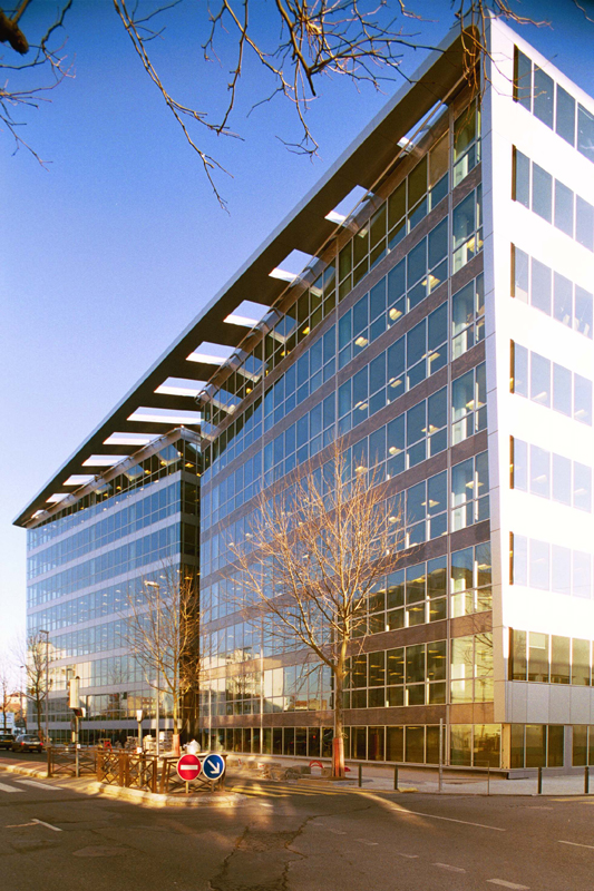 Arc.Ame immeuble de bureaux Colombes