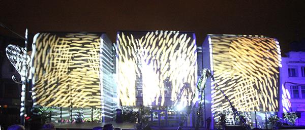 Arc.Ame école d'art Calais nuit