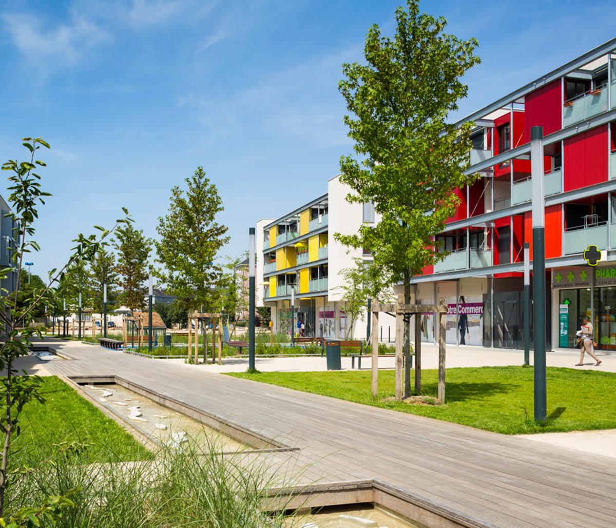 chartres 28 renouvellement urbain du quartier de beaulieu arc ame. Black Bedroom Furniture Sets. Home Design Ideas