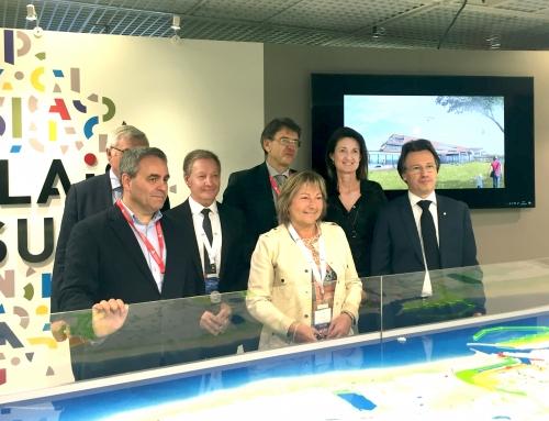 MIPIM 2017 : présentation du Centre de Tourisme et d'Affaires à Calais