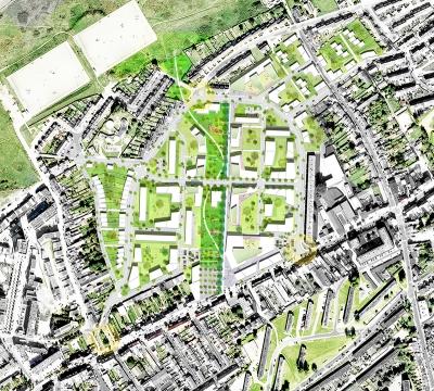 Boulogne-sur-Mer étude urbaine Arc.Ame