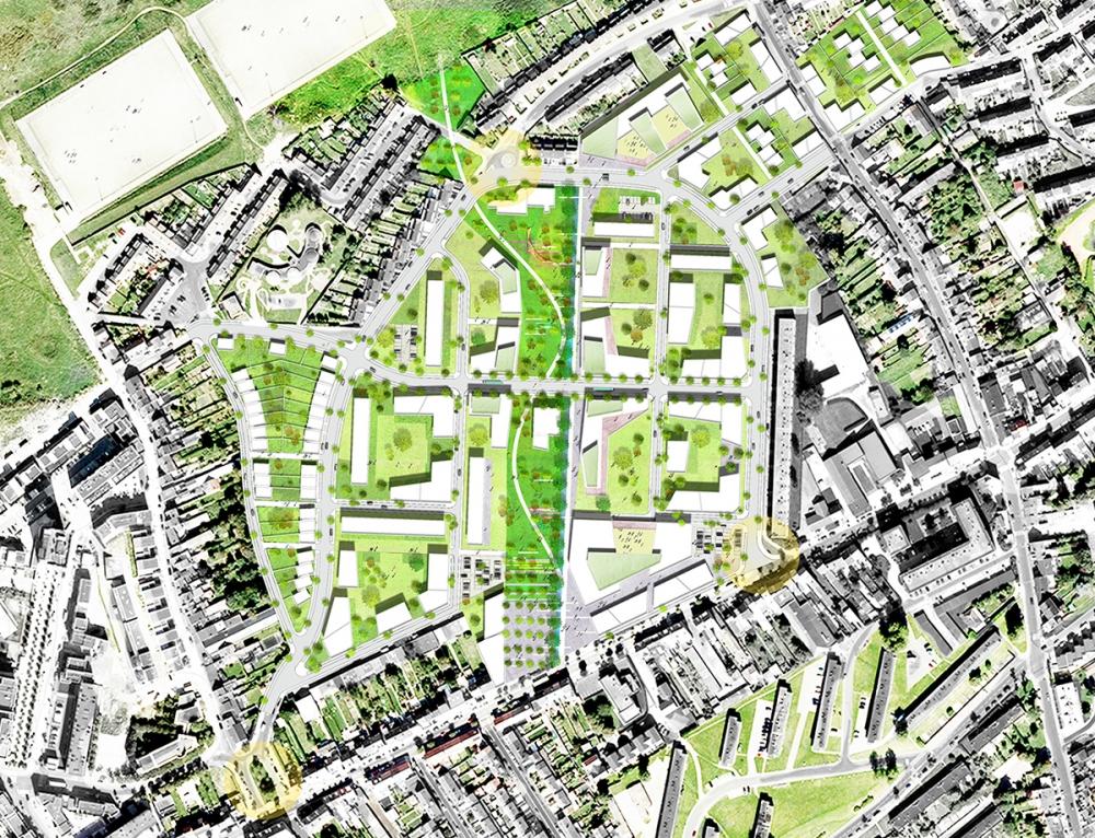 Boulogne-sur-Mer (62) • Étude urbaine