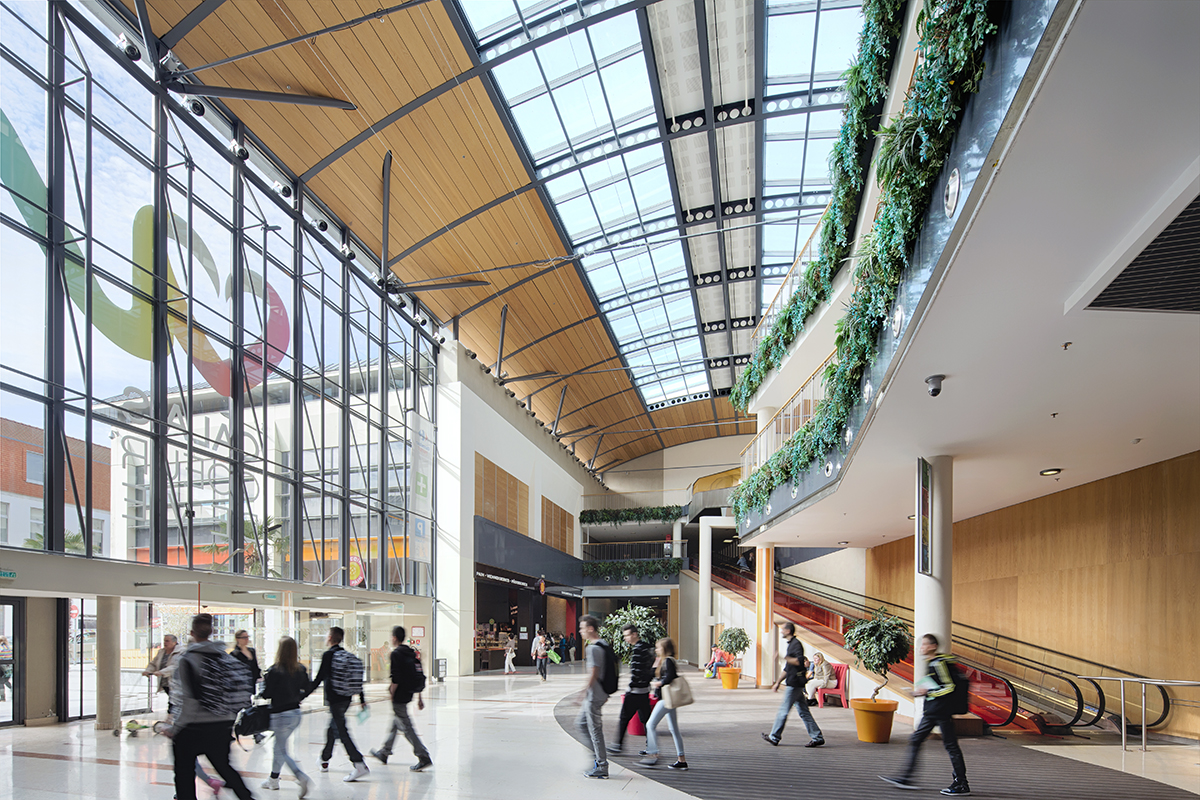 Restructuration int rieure du centre commercial c ur de vie calais - Centre commercial des chanteraines ...