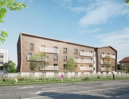 Nouveau projet avec ADOMA ! Une résidence de 73 logements à Torcy