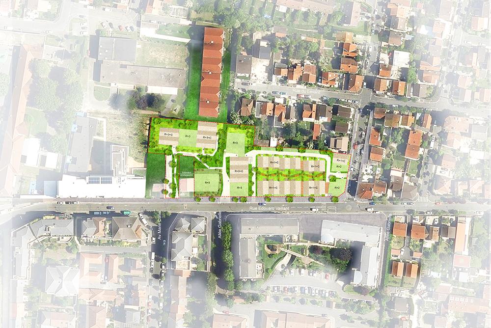 ARCAME Bondy Habitat conception réalisation