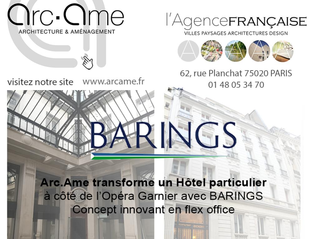 Arc.Ame transforme un Hôtel particulier • Quartier de l'Opéra GARNIER